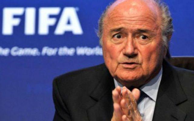 Blatter denunció presión de Francia y Alemania en votación - Foto de Internet