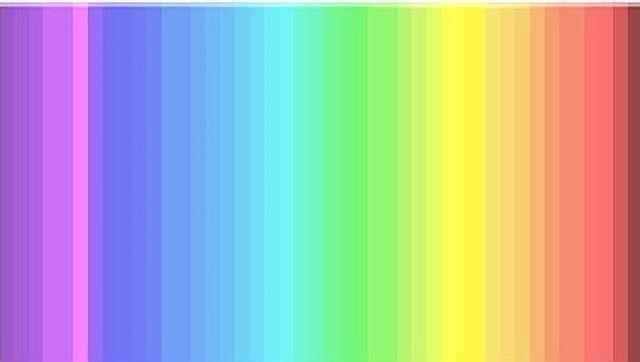 ¿Cuántos colores ves en esta imagen?