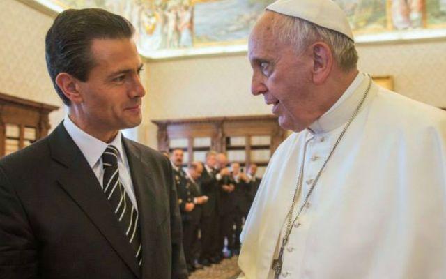 El papa Francisco visitará México: EPN - Foto de Archivo