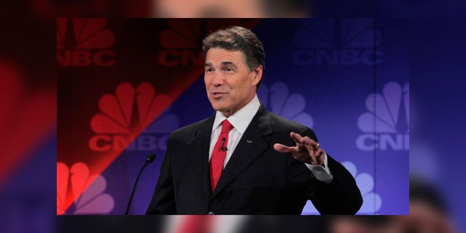 Rick Perry también quiere ser presidente de EE. UU.