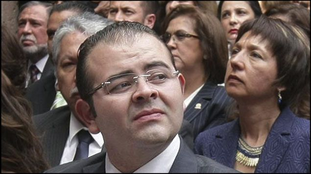 Rodrigo Vallejo pasa de presentado a indiciado - Fausto Vallejo declaró no haber movido un solo dedo de influencia por su hijo. Foto de Radio Fórmula