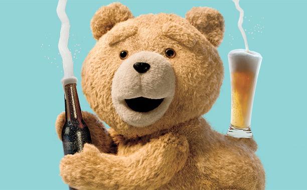 Ted parodia portada de Kim Kardashian - Foto de Entertainment Weekly