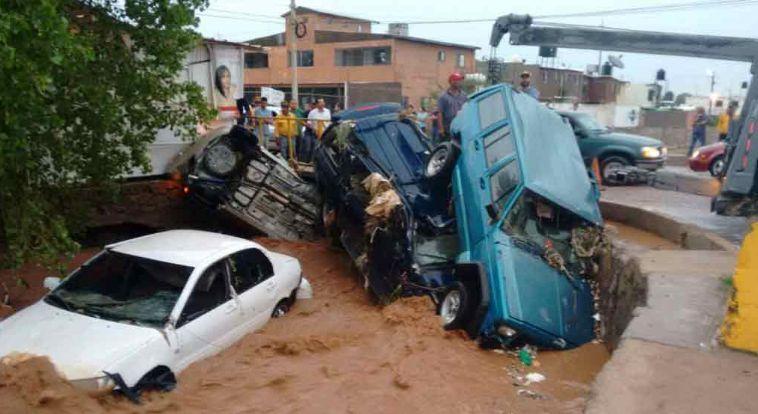Un muerto y cuatro desaparecidos tras lluvias en Sonora - Foto de El Debate
