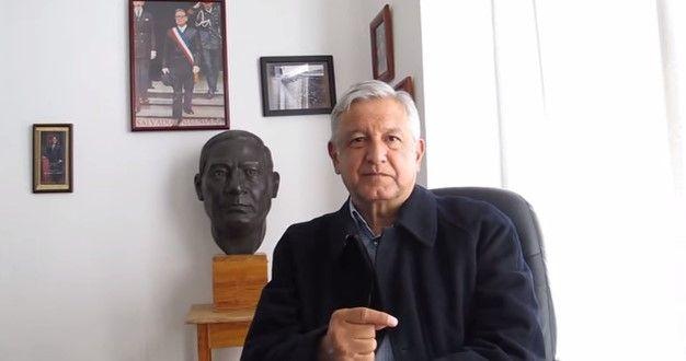 Andrés Manuel López Obrador. // Foto de internet