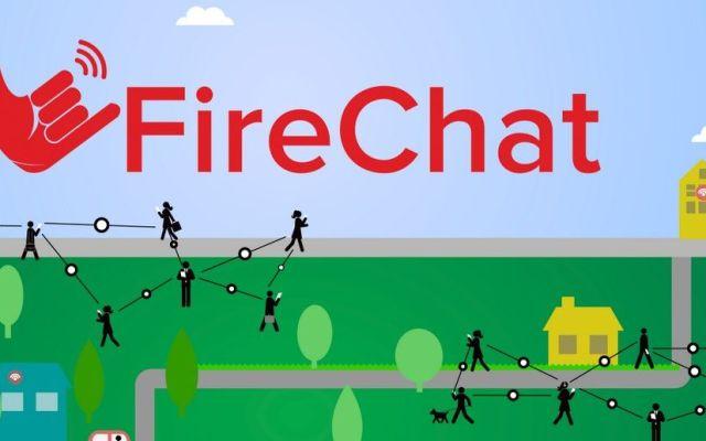 Firechat enviará mensajes encriptados sin internet - Foto de Internet