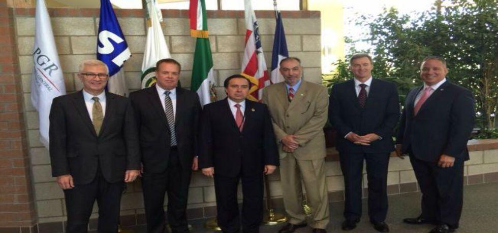 Reunión entre Tomás Zerón y autoridades de EE.UU. para recapturar a El Chapo - Foto de El Universal