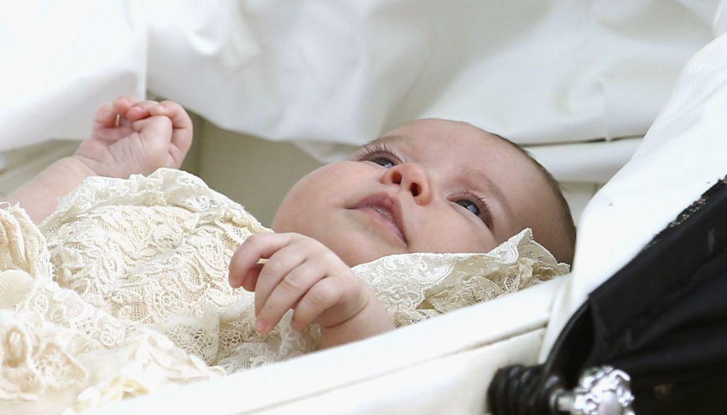 Bautizan a la princesa Charlotte - Foto de AP