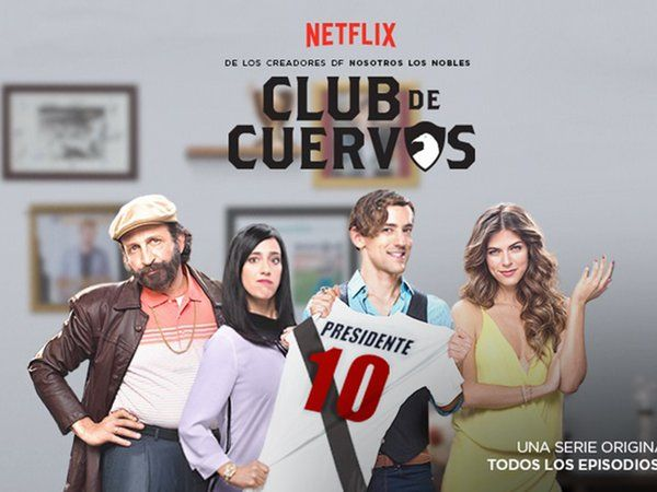 """""""Club de Cuervos"""" va por la tercera temporada - Club de Cuervos, primera producción en español de Netflix. Foto de Neflix"""