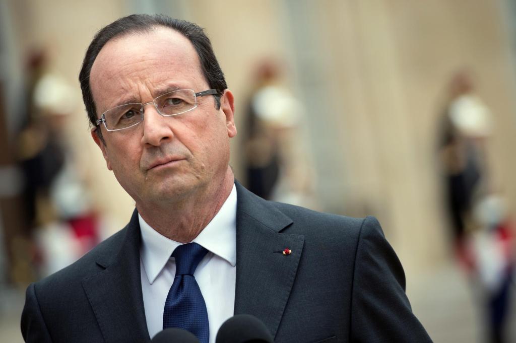 Hollande inicia ronda de contactos contra el Estado Islámico - Francois Hollande, presidente de Francia.