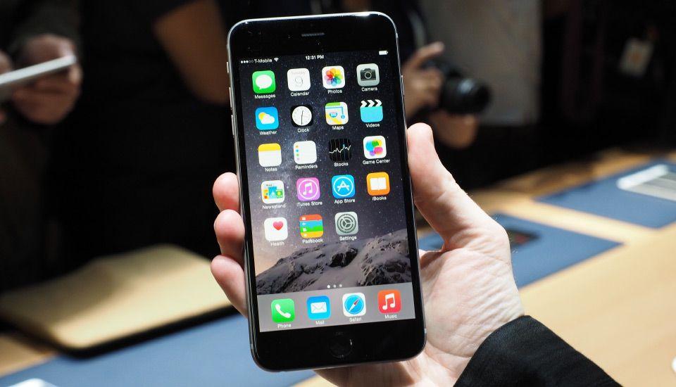 Reemplazarán iPhone 6 Plus por fallas en la cámara - El IPhone 6 Plus. Foto de engagadget.com