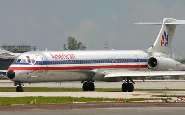American Airlines resuelve problema en sistema - El mcdonell douglas MD80 de American Airlines falló en Dallas