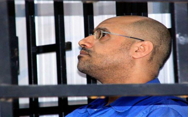 Condenan a muerte al hijo de Muamar Gadafi en Libia - Foto de Telegraph.
