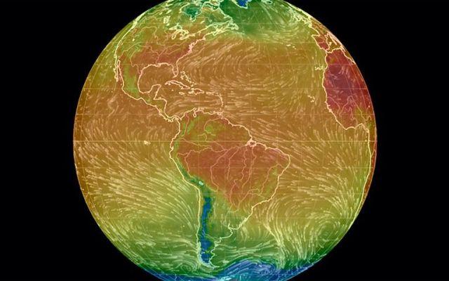 Este junio fue el más caluroso registrado hasta ahora - Foto de Earth Simulator