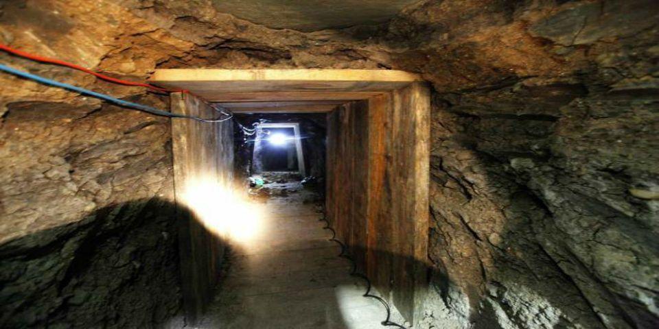 Los túneles del Chapo Guzmán - Foto de Internet