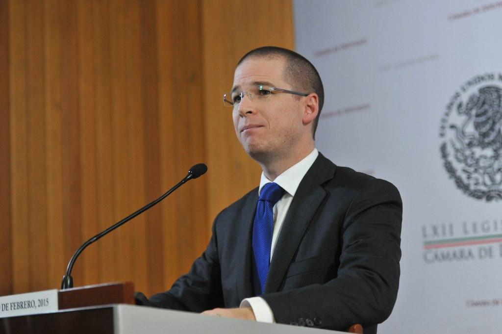 Ricardo Anaya asegura que no ha pedido nada a ningún gobernador - Ricardo Anaya, dirigente nacional del PAN