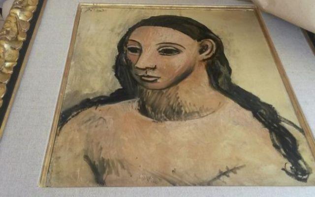 Incautan valioso cuadro de Picasso