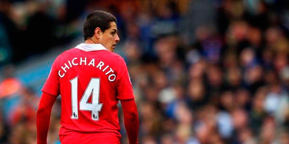 El Manchester United inscribe al Chicharito para la Champions - Foto de Internet