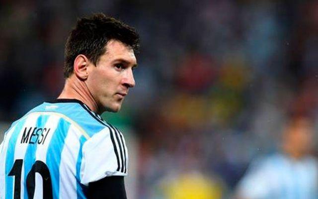 Messi estará en amistoso contra México - Foto de Internet