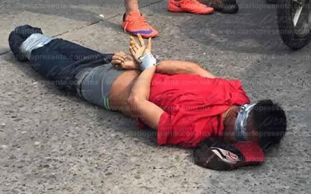 Habitantes de Cárdenas intentan linchar a presunto delincuente - Foto de Diario Presente