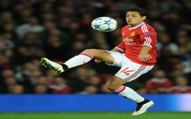 Chicharito vuelve a las canchas con el United - Foto de EFE