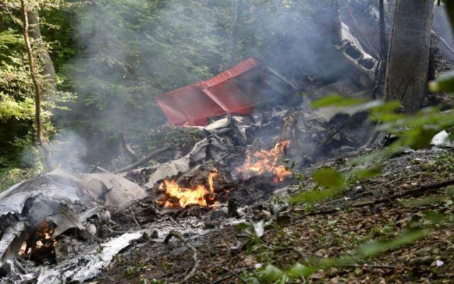 Siete muertos por choque de aviones en Eslovaquia - Foto de Reuters.