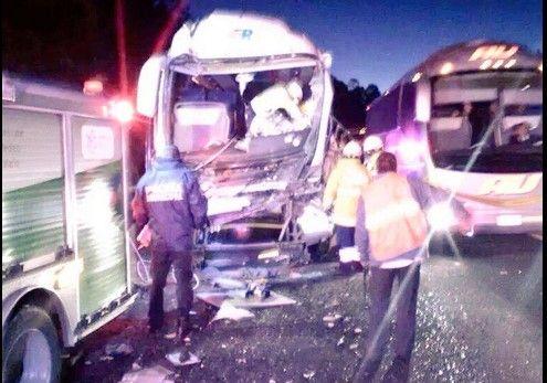 Choque en carretera México-Puebla deja más de 25 heridos - @imagenynoticia