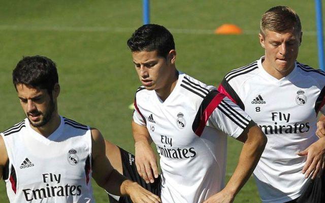 Golazo en entrenamiento del Real Madrid - Foto de Real Madrid