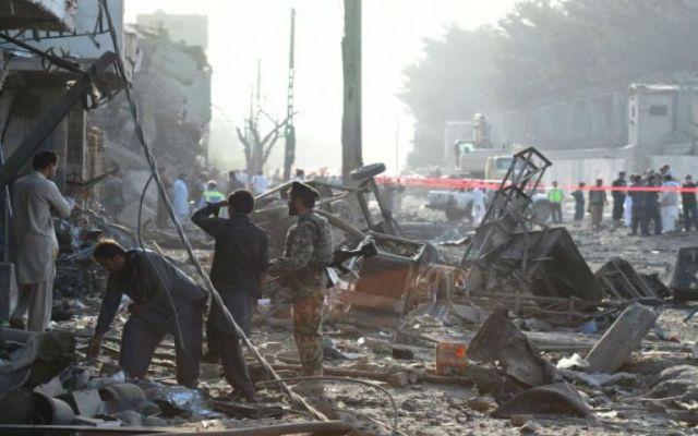 Atentado deja ocho muertos y centenares de heridos en Kabul - Foto de AFP.
