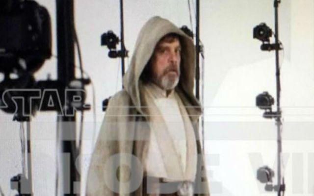 Primera imagen de Luke en The Force Awakens - Foto de Star Wars 7 News .
