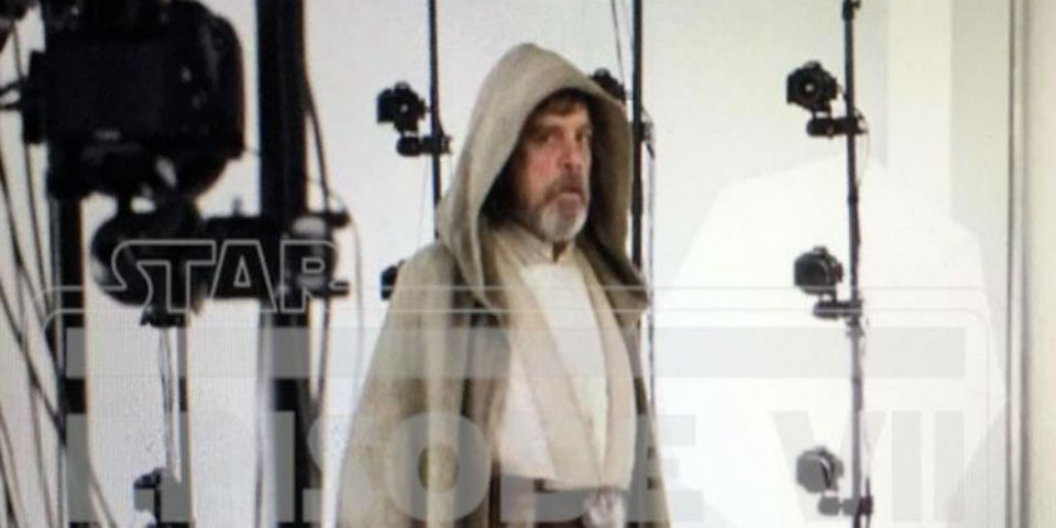 Primera imagen de Luke en The Force Awakens - Foto de Star Wars 7 News .