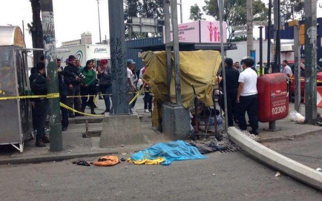 Un muerto por choque de pipa en Azcapotzalco - Foto de @tigerf21