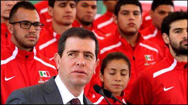 Alfredo Castillo titular de la Conade - Foto RadioFórmula