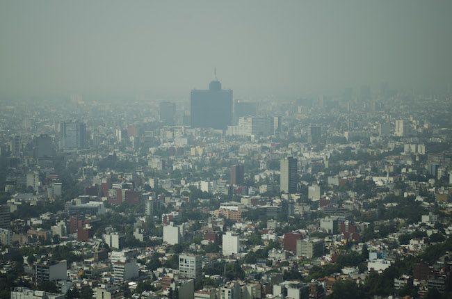 Zona centro y norte de la Ciudad de México amanecen contaminadas - Foto de Cuartoscuro