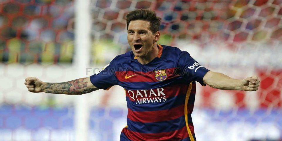 Barcelona vence al Atleti con gol de Messi - Messi