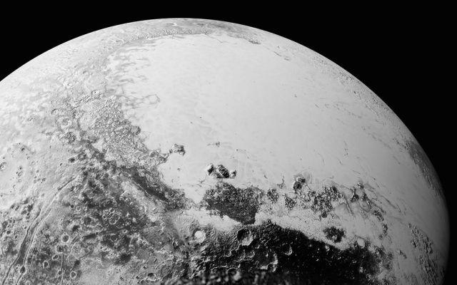 El cielo de Plutón también es azul - Foto de NASA
