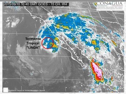 Tormenta tropical Linda continúa debilitándose en el Pacífico