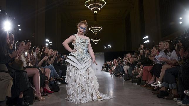 Semana de la Moda de NY abre sus puertas a personas con discapacidad - Foto de ABC