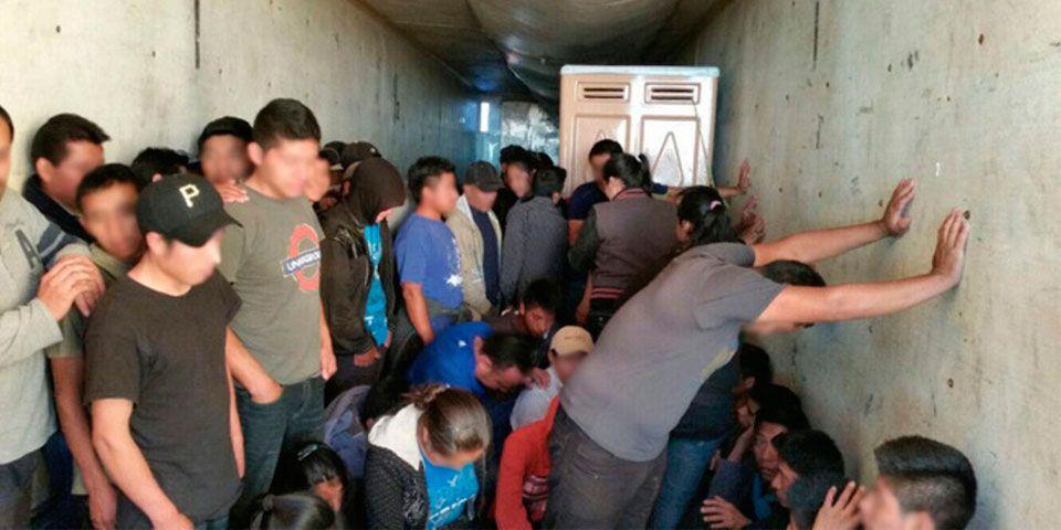 Rescatan a 28 migrantes en Veracruz - Foto de INM