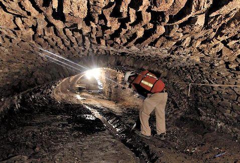 Hallan fósiles de dinosaurios en túneles de Puebla