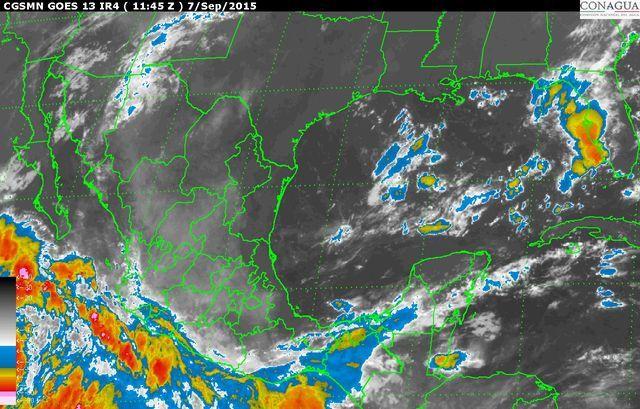 Huracán Linda provoca lluvias fuertes en varios estados del país