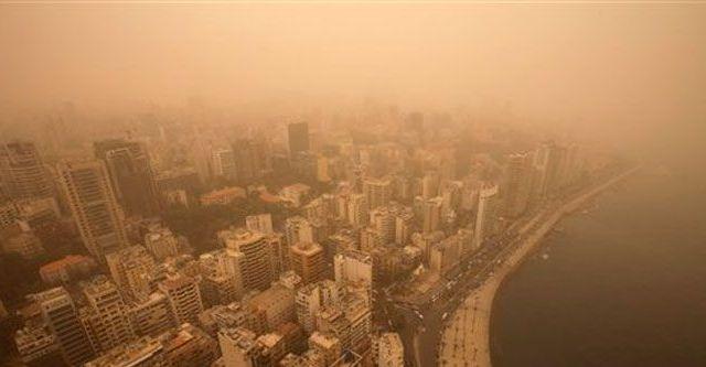 Tormenta de arena en Líbano y Siria causa dos muertes - Foto de AP