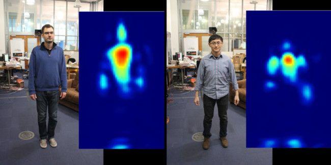 Crean dispositivo que visualiza personas a través de la pared