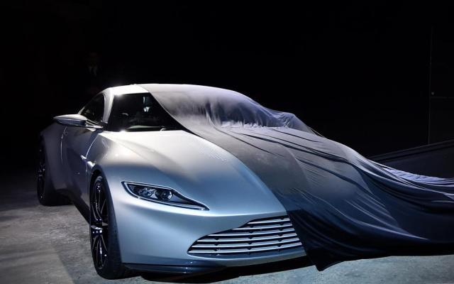 Subastarán el auto de James Bond de la cinta Spectre - Aston martin DB10 - Foto de carculture.com.mx