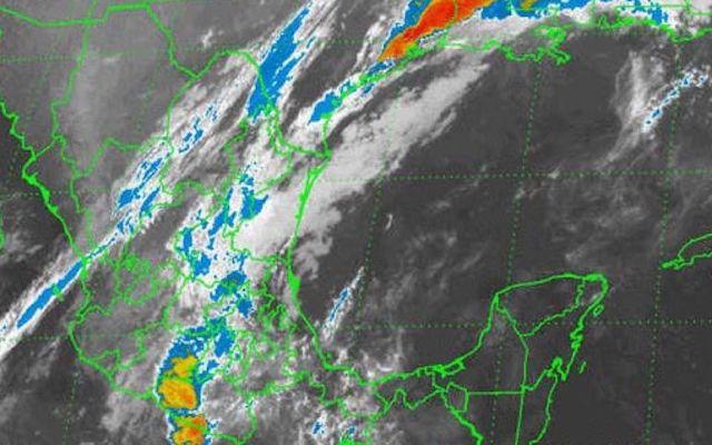 Pronostican lluvias en todo el país por frente frío 10