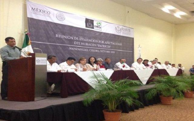 Estima Colima 100 mdp para recuperación por Huracán Patricia