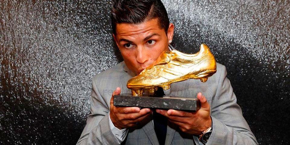 Cristiano Ronaldo recibió su cuarta Bota de Oro - Foto de Real Madrid