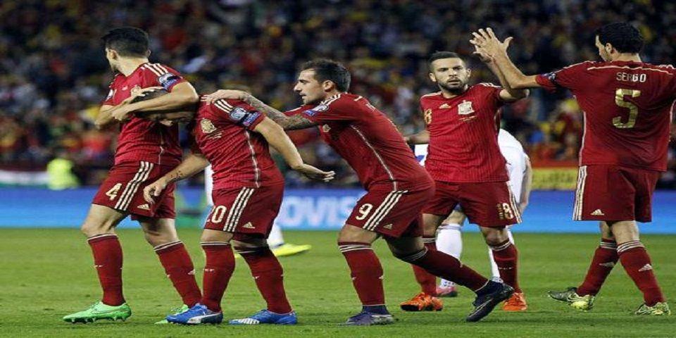 España logra clasificación a la Eurocopa