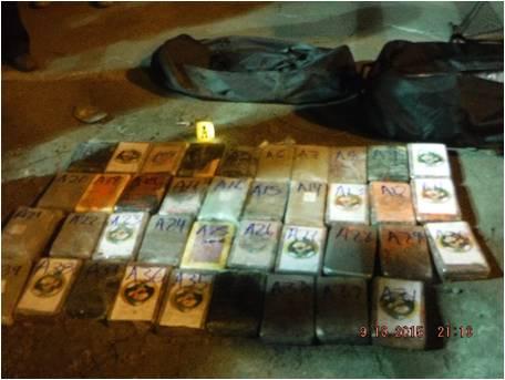 Decomisan 184 kilos de cocaína en Colima