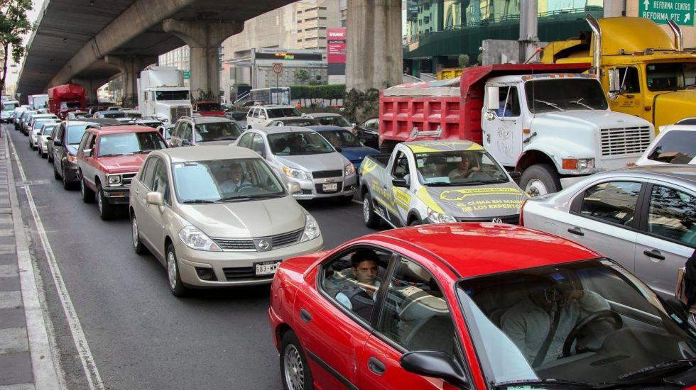 Con el reglamento de tránsito hasta las vueltas continúas están prohibidas: SSPDF
