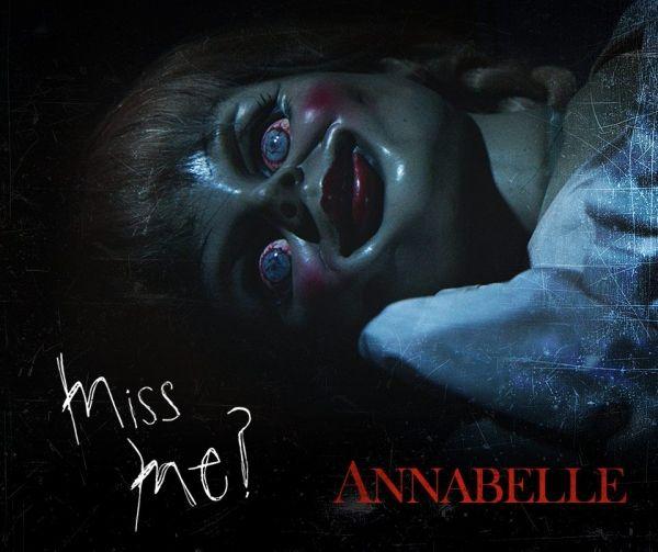 Confirman la segunda parte de Annabelle - Poster de la película Anabelle - Foto de internet